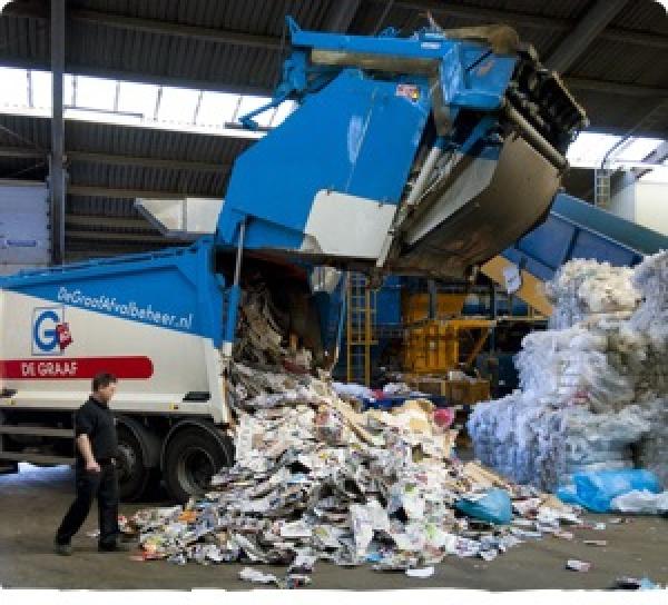 Gescheiden afval verzamelen